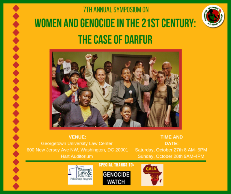 7th Annual Symposium on Women and Genocide in the 21st ...