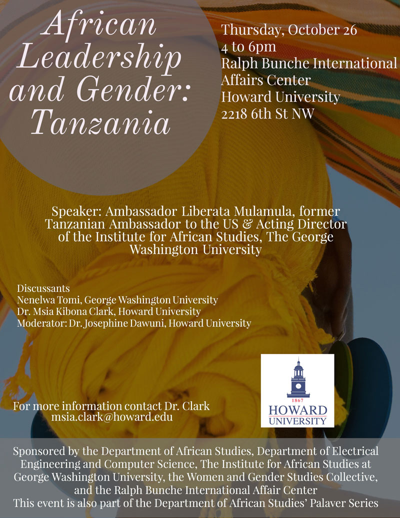 African Leadership and Gender: Tanzania