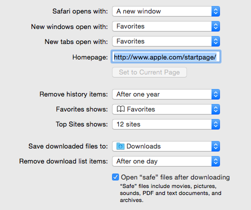 safari downloads