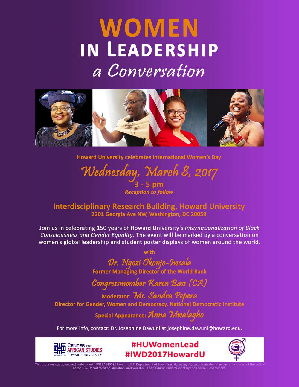 Women in Leadership: a Conversation